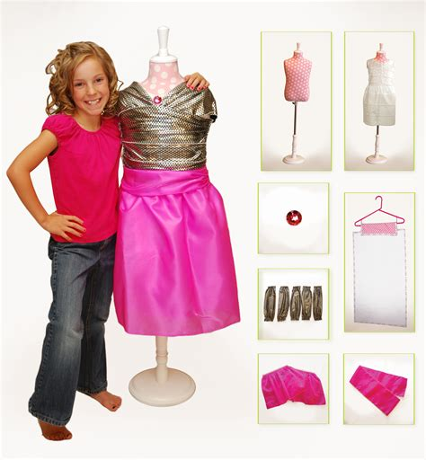 fashion design kits for tweens shailie revolutionary dress up toy for girls the