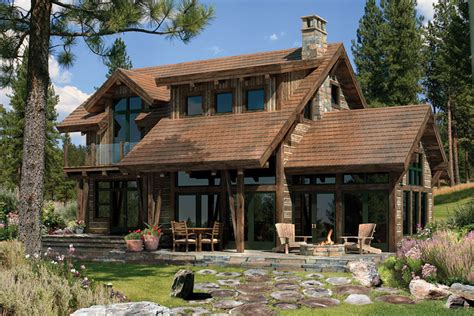 home ideas 187 rustic log home plans