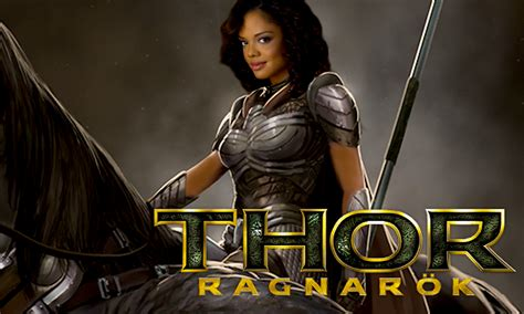 rumor tessa thompson obviously valkyrie in thor