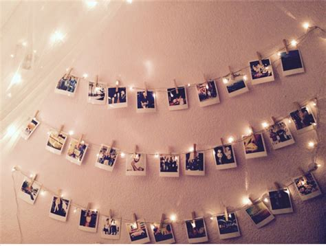 how to hang polaroid lights memories image 3418751 by marine21 on favim