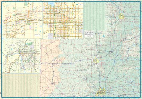 road map of texas and oklahoma maps for travel city maps road maps guides globes topographic maps