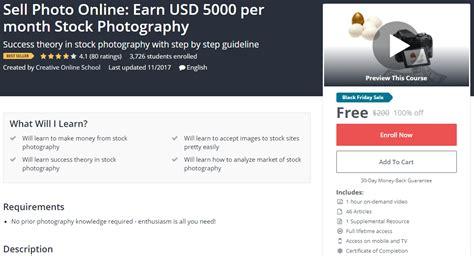 Bestselling 100 Off Sell Photo Online Earn Usd 5000