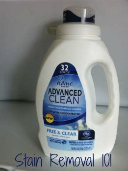 kroger home sense laundry detergent review: free & clear scent