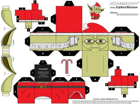 Papercraft Santa - 148 best wars cubeecraft images on paper