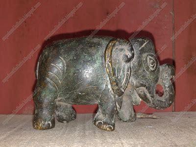 Barang Antik Gajah patung gajah kuningan terjual barang antik klasik