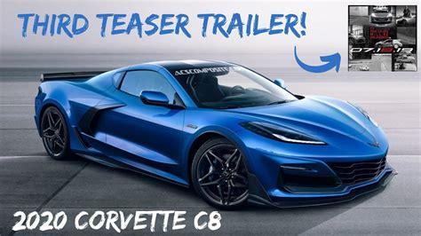 teaser trailer   corvette  mid engine