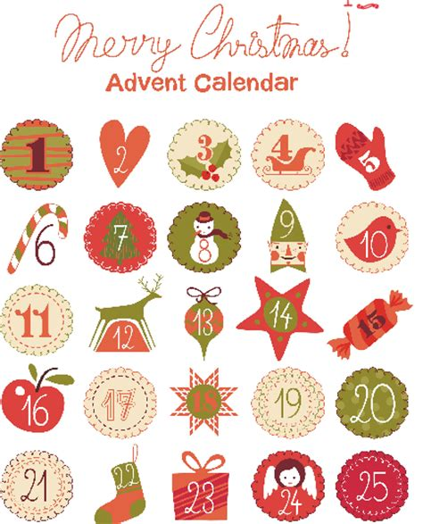 printable advent calendar coupons advent calendar printables