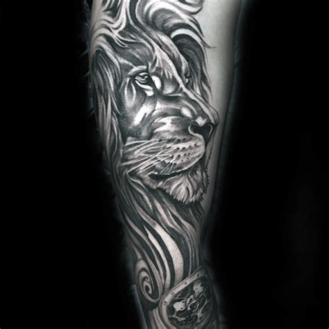 lion sleeve tattoo 60 sleeve designs for masculine ideas