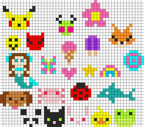 bead pattern ideas tons of perler charms perler bead pattern bead sprites