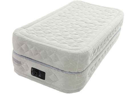 new intex raised air bed airbed mattress w ebay