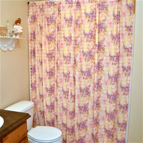 purple ruffle shower curtain shop pink ruffle curtains on wanelo
