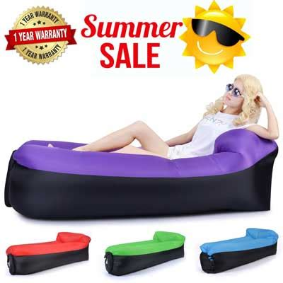 rowhou com inflatable lounger sofa hammock by portable cing