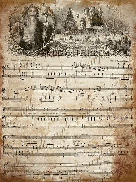 printable vintage christmas sheet music 1000 images about vintage printable sheet music on pinterest