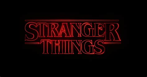 stranger things fonts in use