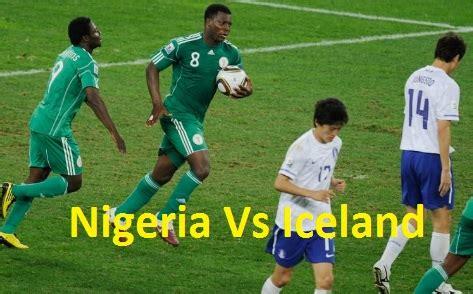 nigeria vs iceland football 25th match live – bbc, fox