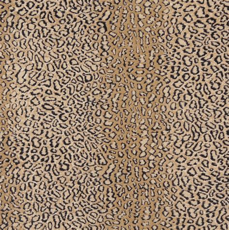 Animal Upholstery Fabric E412 Leopard Animal Print Microfiber Fabric Contemporary