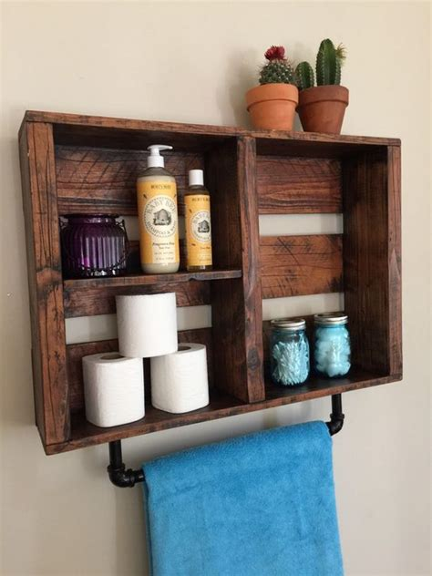 decorative bathroom shelf 25 best ideas about pallet shelf bathroom on pinterest