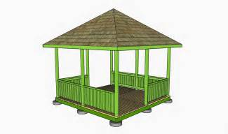 Outdoor Gazebo Plans by Free Gazebo Plans How To Build A Gazebo How To Build A