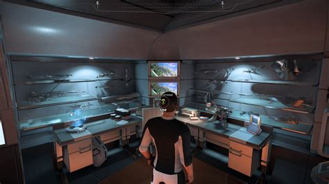 mass effect bedroom kett shuttle model ship not appearing in tempest room