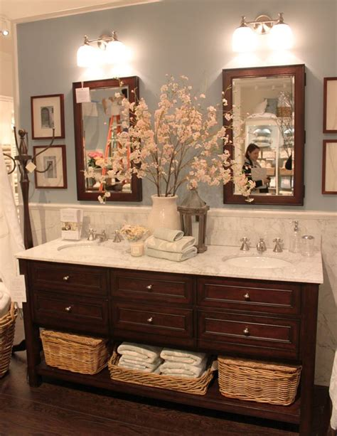 pottery barn bathroom images pottery barn bath ski lodge pinterest