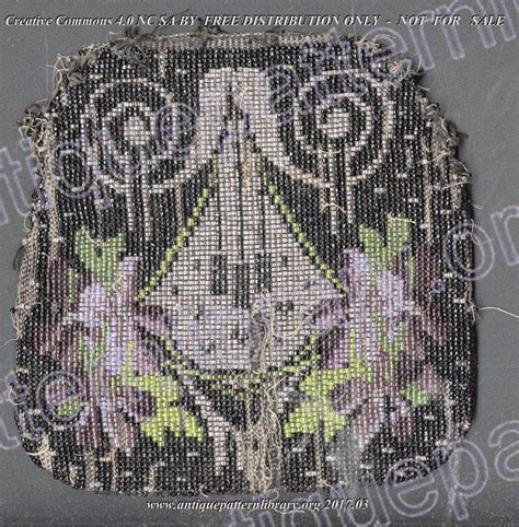 hydrogen pattern library apl h tt001 beaded bag pattern page 1