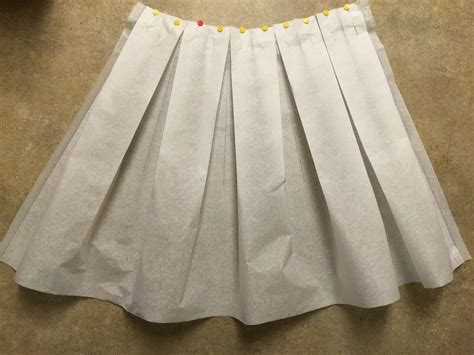 Pattern Pleated Skirt anthro inspired buffalo check pleated midi skirt sewing