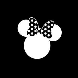 bow window decals minnie mouse bow vinyl decal stickers
