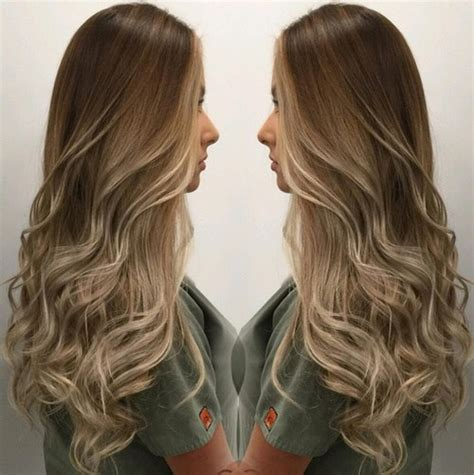 brown and blonde ombre with a line hair cut 20 sweet and stylish soft ombre hairstyles