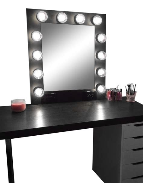 Where Can I Buy A Vanity Mirror With Lights by 25 Best Ideas About Black Makeup Vanity On