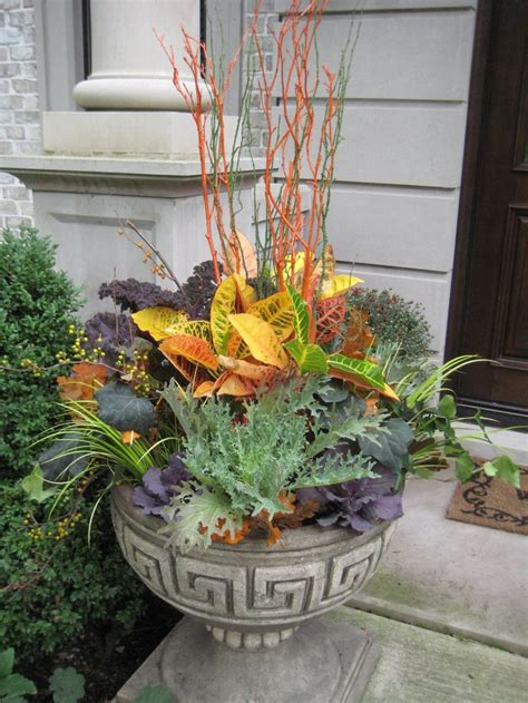 Fall Planter Box Ideas by 204 Best Images About Containers Fall On