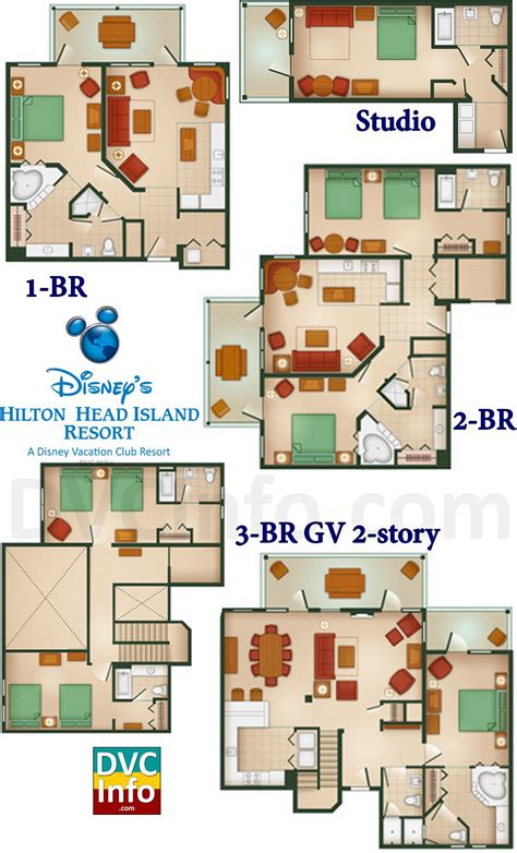 disney floor plans disney s hilton head island resort dvcinfo com