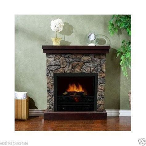 electric fireplace mantel ebay
