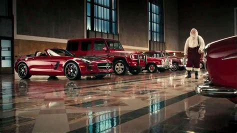 Mercedes In Santa mercedes tv commercial santa s garage ispot tv