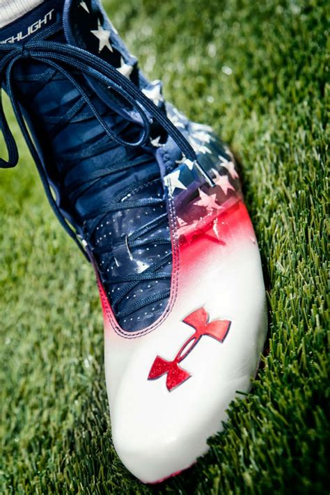 warrior football shoes boston college armour wounded warriors freedom