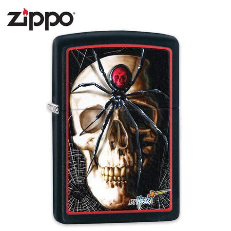 Zippo Skull Wrenches Black Matte 29088 zippo black matte claudio mazzi black widow skull windproof lighter kennesaw cutlery