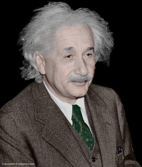 einstein newton biography albert einstein large picture color head and