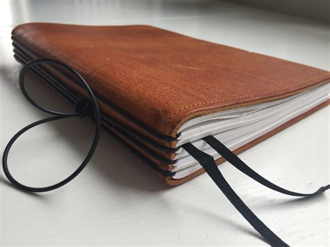 review x17 a5 leather notebook book by book scrively note taking writing