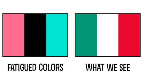 color negative negative afterimages