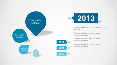 Clean Timeline Template For Powerpoint Slidemodel Clean Powerpoint Templates
