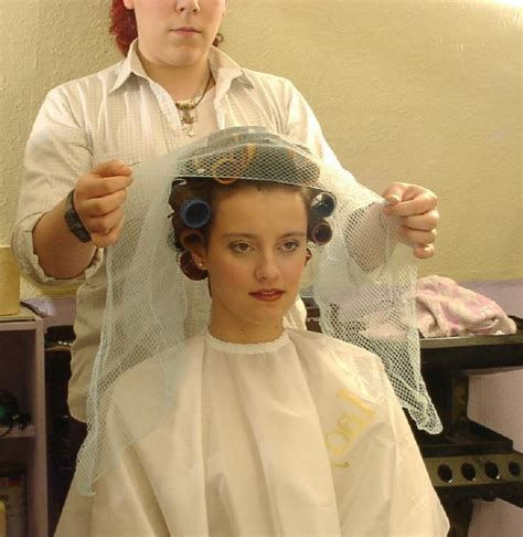 hairnets for perm 466 best images about netted rollers on pinterest