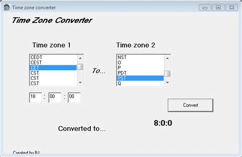 date format zone time zone converter converts time zones for you ghacks