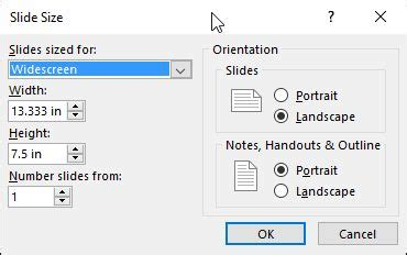 How To Change The Size Of A Slide In Microsoft Powerpoint Digital Citizen Powerpoint Template Size Inches