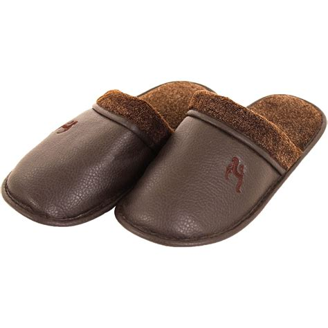 mens leather bedroom slippers mens leather bedroom slippers