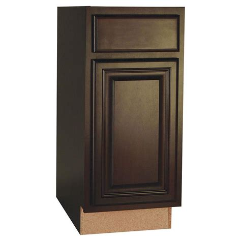 kitchen cabinet drawer glides hton bay cambria assembled 15x34 5x24 in base kitchen