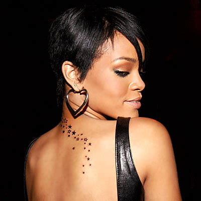 rhiannas tattoos meaning