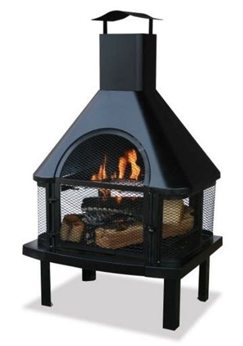 Indoor Wood Burning Pit Wood Burning Pit Patio Firepit Deck Chiminea Outdoor
