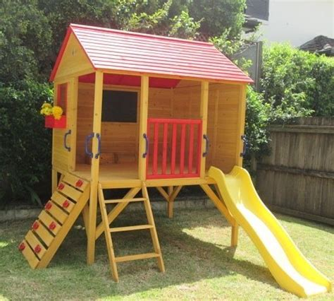 backyard forts and playhouses cubby house oscar kids outdoor fort playhouse timber