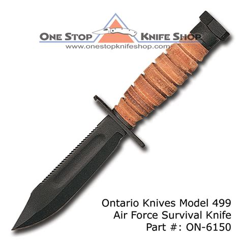 ontario 499 knife ontario 499 air survival knife
