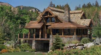 Frank Lloyd Wright Inspired House Plans Alderbrook Log Home Floor Plan A Log Home For The Great