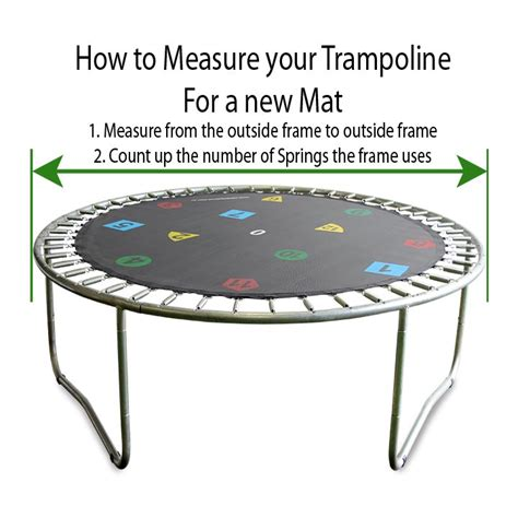 How To Measure Troline For Replacement Mat by Replacement Troline Mats 16ft Troline Jumping Mats